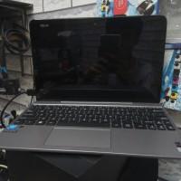 second laptop asus transformer t101h touchscreen pecah