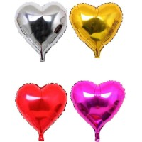 Balon foil hati besar atau balon love