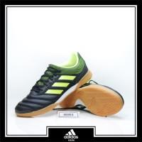 Sepatu Futsal Adidas Copa 19.3 IN Sala Black Yellow Original BB8093