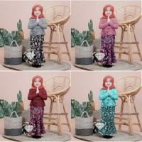 Shireen batik / baju kebaya batik anak perempuan usia 5-6 tahun