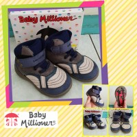 Sepatu Kets Anak Bayi Baby Millioner Size 6 7 8 BMJP37 Abu Bogor