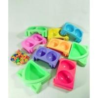Congklak Susun plastik kewuk campur warna
