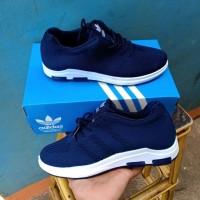 Adidas Slop Import Vietnam Men Running Terbaru Sepatu Santai Pria
