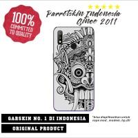 Garskin skin Xiaomi redmi note 8 anti gores back case Reog bali