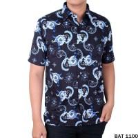 Batik Baju Etnik Keren Pria Reguler Fit Pendek - BAT 1100