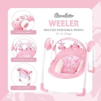 Swing portable Deluxe/Cocolatte Weeler/Ayunan Bayi Electrik Murah