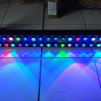 Lampu LED HPL DIY Aquarium Air laut 60cm - 100cm 3w x30