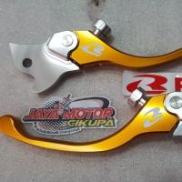 RCB Handle Alloy Lever Set S2 Yamaha New Vixion R15 Gold