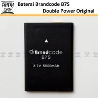 Baterai Handphone Brandcode B7S Original Double Power Batre Batrai Ori
