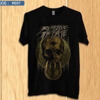 Kaos revenge the fate / shirt band distro premium re7