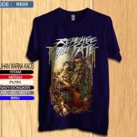 Kaos revenge the fate / shirt band distro premium re5