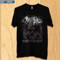 Kaos revenge the fate / shirt band distro premium re2