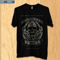 Kaos revenge the fate / shirt band distro premium re1
