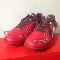 Sepatu Bola Lotto Squadra FG Dark Red White L01010011 Original BN
