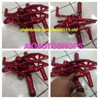 step underbone lipat vixion new/vixion old/yamaha r15 old v2 full cnc
