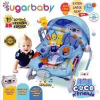 Baby Bouncer Rocking Sugar baby 10in1- Kursi Bayi Musik Ayun