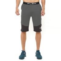 FLEXZONE Celana Selutut - Grey - for Gym Running Jogging FCS-003AH - S