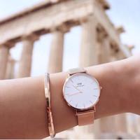 jam tangan wanita DANIEL WELLINGTON ORIGINAL CLASSIC PETITE MELROSE