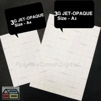 3G JET-OPAQUE A3, HEAT TRANSFER PAPER