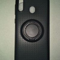 I-Zore Magnetic Ring Shockproof Casing Samsung Galaxy M20 - Hitam