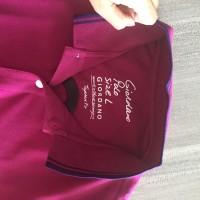 Kaos Polo Cotton Merek Giordano Original Warna Ungu Size L