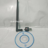 USB Dongle Wireless WIFI Receiver USB Adapter 802.11N 300Mbps Antenna