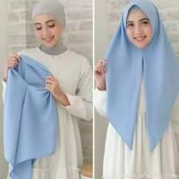 Jilbab Hijab Kerudung Segi Tiga Instant / Segitiga Instan Wolfis