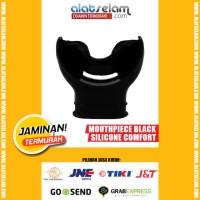 Mouthpiece Black Silicone Comfort (Super Nyaman Loh..)