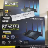Asus RT-AC88U , 802.11ac AC3100 Dual-Band Wi-Fi Gigabit Router