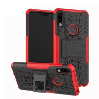 Case Zenfone Max Pro M2 ZB631KL Rugged Armor Stand Hardcase +Softcase