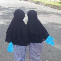 Jilbab Anak-anak ( Bahan Ceruti )