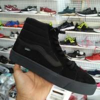 sepatu vans old school full black high tinggi promo 39-43