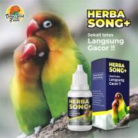 Herba Song Plus VITAMIN BURUNG Lovebird, Kenari, Kacer, Suara Gacor