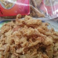 kripik jamur tiram crispy 100gram