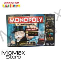 Hasbro Gaming Monopoly Ultimate Banking Own It All