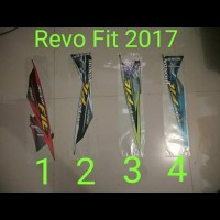 Revo Fit 2017 Motor List Striping / Stiker / Stripping