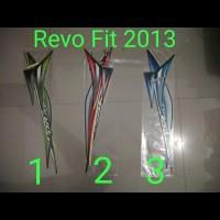 Revo Fit 2013 Motor List Striping / Stiker / Stripping