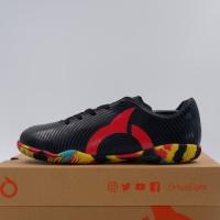 New Sepatu Futsal Anak OrtusEight Forte Helios IN JR Black Ortred