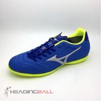 Sepatu Futsal Original Mizuno Rebula V3 IN Strong Blue P1GF188509 BNIB
