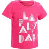 Baju olahraga anak kaos t-shirt anak perempuan kaos fitness anak cewe