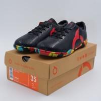 Baru Sepatu Futsal Anak OrtusEight Forte Helios IN JR Black Ortred