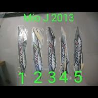 Mio J Sporty 2013 Stiker Stripping List Striping