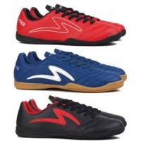 Sepatu Futsal Specs Viento Porto Ricco IN - Black Emperor Red Navy Blu