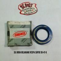 Seal roda belakang Vespa Super th 75 - Sil 30-47-6