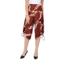 MOSIRU Celana Kulot Batik Wanita Katun Stretch Termurah 30100004