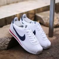 Sepatu Casual 100% Original (BNWB) Nike Cortes White Navy White Red