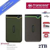 Transcend StoreJet 25M3 2TB - HDD / HD / Hardisk External Antishock