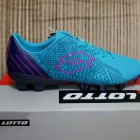 Sepatu Bola Lotto Blade FG scuba blue original olahraga top
