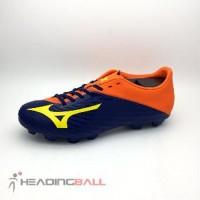 Sepatu Bola Mizuno Original Basara 103 MD Navy Orange P1GA176454