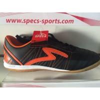 Sepatu Futsal Specs Horus black orange 2015 Original
